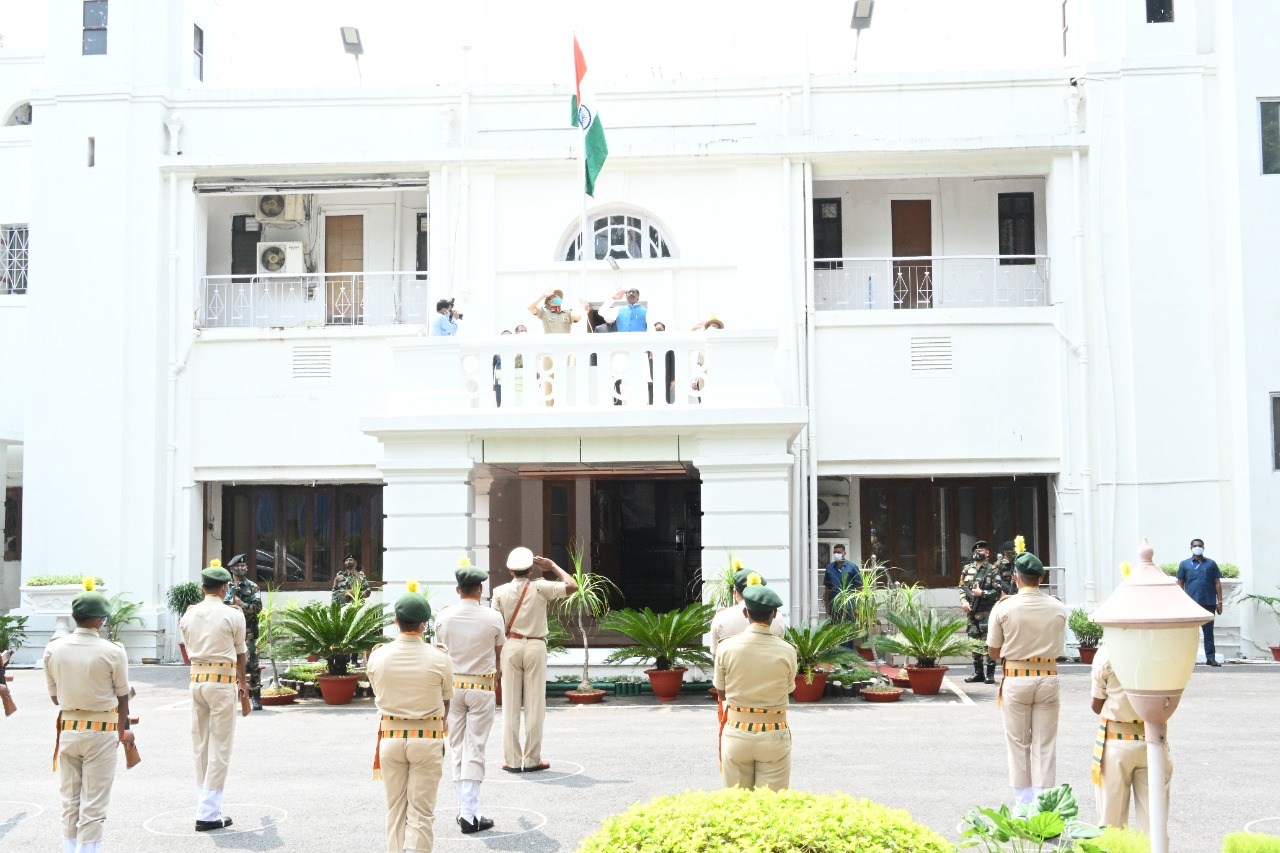 Independence Day 2021 Residential Office old, Ranchi