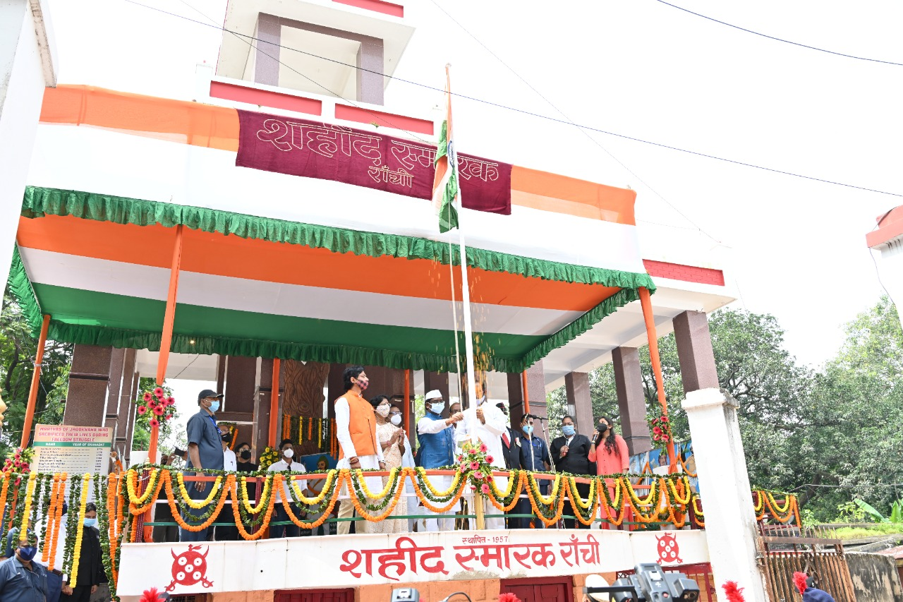 Independence Day 2021 Shaheed Chowk, Ranchi