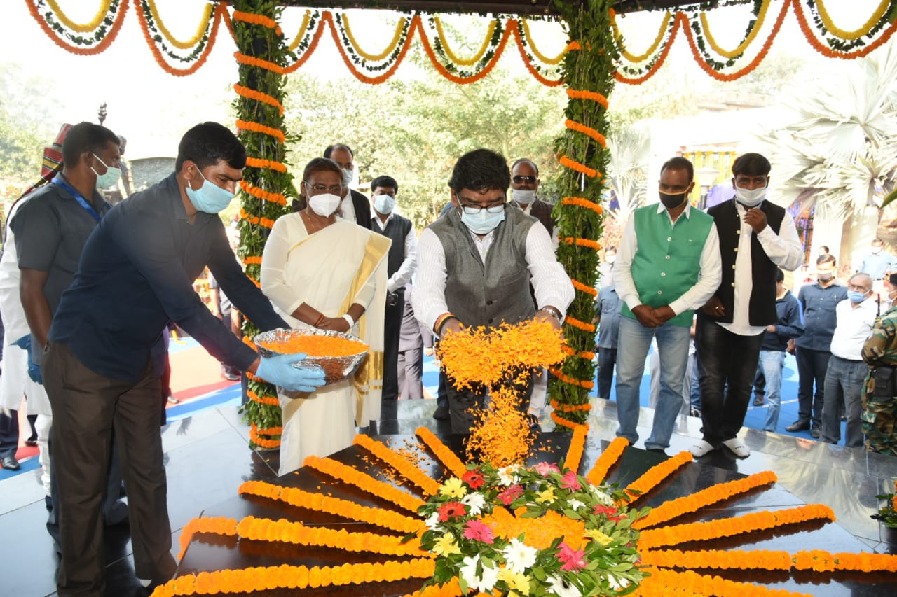jharkhand establishment day