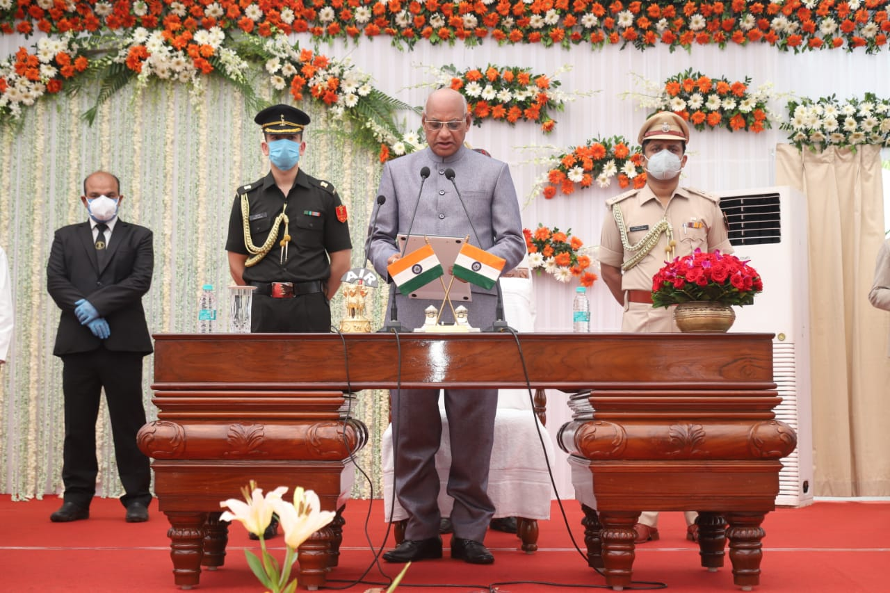 Oath Ceremony of 10th Honourable Governor Ramesh Bais