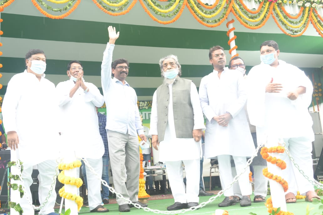Sona-Sobran Dhoti Saree Distribution Scheme